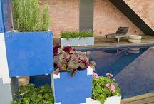 En el jardin / Jardineria exterior modular
