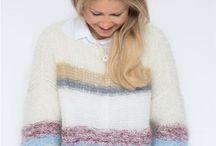 Line Langmo genseren / Strikket genser