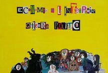 La Economía a la Intemperie / Cuadro para la imagen de la cubierta.  Libro. Autores: Andrés González y Rocío Orsi