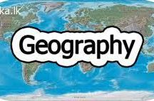 A/L Geography @ Colombo 9