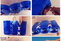 Сумки из пластиковых бутылок