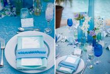 Color Inspiration - Blue / Shades of Blue! How to bring blue into your Costa Rica Wedding color scheme.