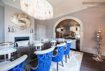 Dining Rooms / #dining rooms with #interiordesign flair
