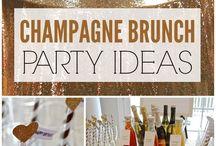 Champagne Brunch Ideas