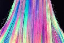 arco iris Pelo