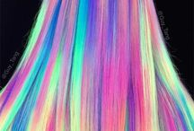 glow in the dark hair