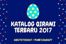 Katalog Qirani Terbaru Tahun 2017 / Nanda CS 1 Qirani  : SMS: 085731730007 Whatsapp: +6285731730007 BBM: 536816F7