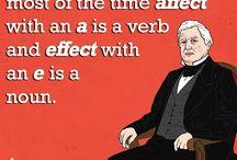 Grammar RULES! / I am a grammar nerd wannabe. / by Allyson Pearl