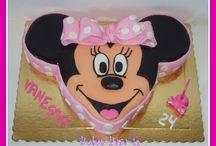 Bolos  Criança Mickey e Minnie / Bolos Mickey e Minnie