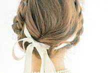 かわいいヘアスタイル