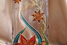 wazony malowane