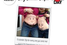 Weight Watchers Silly Success Selfies / raising money for Comic Relief and sharing the success with a smile.