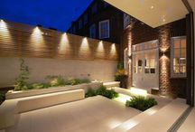 Garden lighting / Inspiration for lighting middle-sized gardens - clever ideas and looks from top garden designers