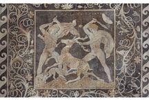 XXXXII Ancient Greek Mosaics