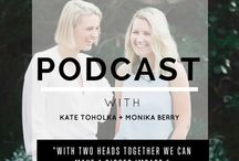 Business & Blogging Podcasts / Advice and inspiration about business and blogging from people who are doing it well and sharing it on podcasts I love.