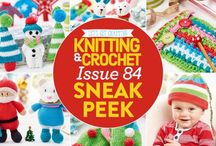 Issue 84 of LGC Knitting & Crochet magazine / We know you are eager beavers when it comes to Christmas crafting, which is why we're kicking things off early with our festive Kringle colour pack. Start with a cute elf girl, Santa and polar bear toys or an easy crocheted giraffe, or get your home ready for December with tree decs and adorable mini wreaths. We've also got prizes galore for you to win and we debate what's best: knitting or crochet? Find out more in issue 84, on sale from 26th August 2016