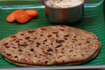 Indian Breads and Paratha / Collection of Indian bread recipes and paratha recipes which can be served for breakfast or lunch or dinner.