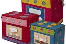 Brinquedos para Davi e Clarice