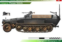 WW2 - SDKFZ 251/5