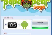 Papa Pear Saga Hack iOS Android telecharger gratuit