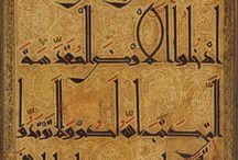 Arabic et Islamic Calligraphy - Typography - Art