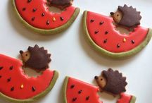hedgehog : sweets