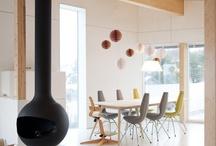 Modern Fireplaces / A list of modern fireplaces.