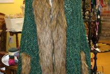 Lucci Galaxy & Lucci Faux Fur / Lucci Galaxy consists of 90% extra fine Merino Wool from Italy and 10% kid mohair.  Wound & put up in the USA.  The Faux Fur is imported and available, as is the Galaxy yarn in yarn shops.  Contact lucciyarn.com  for a shop near you.