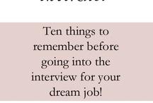 Interview Ideas