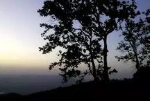 sunrise point at netarhat ,jharkhand