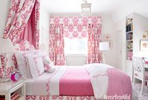 Pretty Pink Fabrics / This board features a sample selection of fabrics in the pink color family or with pink accents.  Use these fabrics to help create a statement in your home, without paying designer or retail prices.  As always, we offer totally free samples on all our fabrics.
