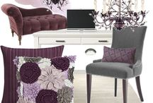 Grey & Plum / Interior Design