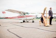 An Airplane Wedding