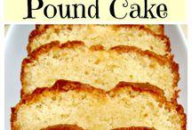 Cake recipies