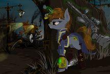 Pony art steampunk.