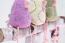 Hekle-og strikkeoppskrifter / Hobby