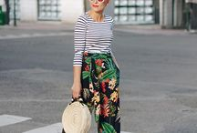Breton stripe outfit