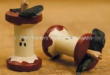 wooden spool crafts