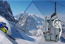 Ski areas Chamonix