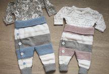 strikk til baby