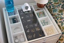 organização de jóias