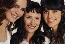 Deschanel Girls / Mary Jo Deschanel was born on November 25, 1945 in Los Angeles, California, USA as Mary Josephine Weir. She is an actress. She has been married to Caleb Deschanel since July 8, 1972. They have two children. Emily Erin Deschanel born October 11, 1976) is an American actress and producer. Zooey Claire Deschanel (born January 17, 1980) is an American actress, singer-songwriter, model, musician, and producer. - Follow me if you like it! :)