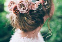 nice hair flowers