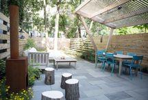 backyard / by Scruffy Hot Dog