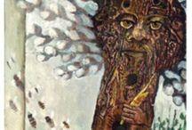 Bogowie i Boginie Słowiańskie - Tyn Wiłów-Borowiłów / Copyright © by Czesław Białczyński, all rights reserved ® by Jerzy Przybył Bogowie Słowian