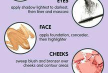 makeup tutorials ;)