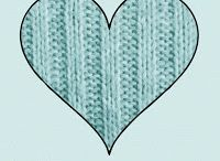 heart love woolen
