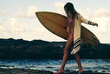 my addictions  / surf n' ski