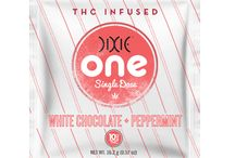 Dixie One / Dixie One Single Serving THC Infused Marijuana Products - Introducing Dixie One. With between 5mg and 10mg of THC, these single-serving marijuana treats are perfect for first timers.