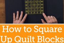 how to and templates for quilting